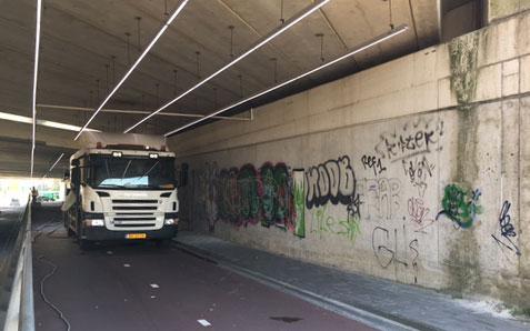Anti-Graffiti   voor